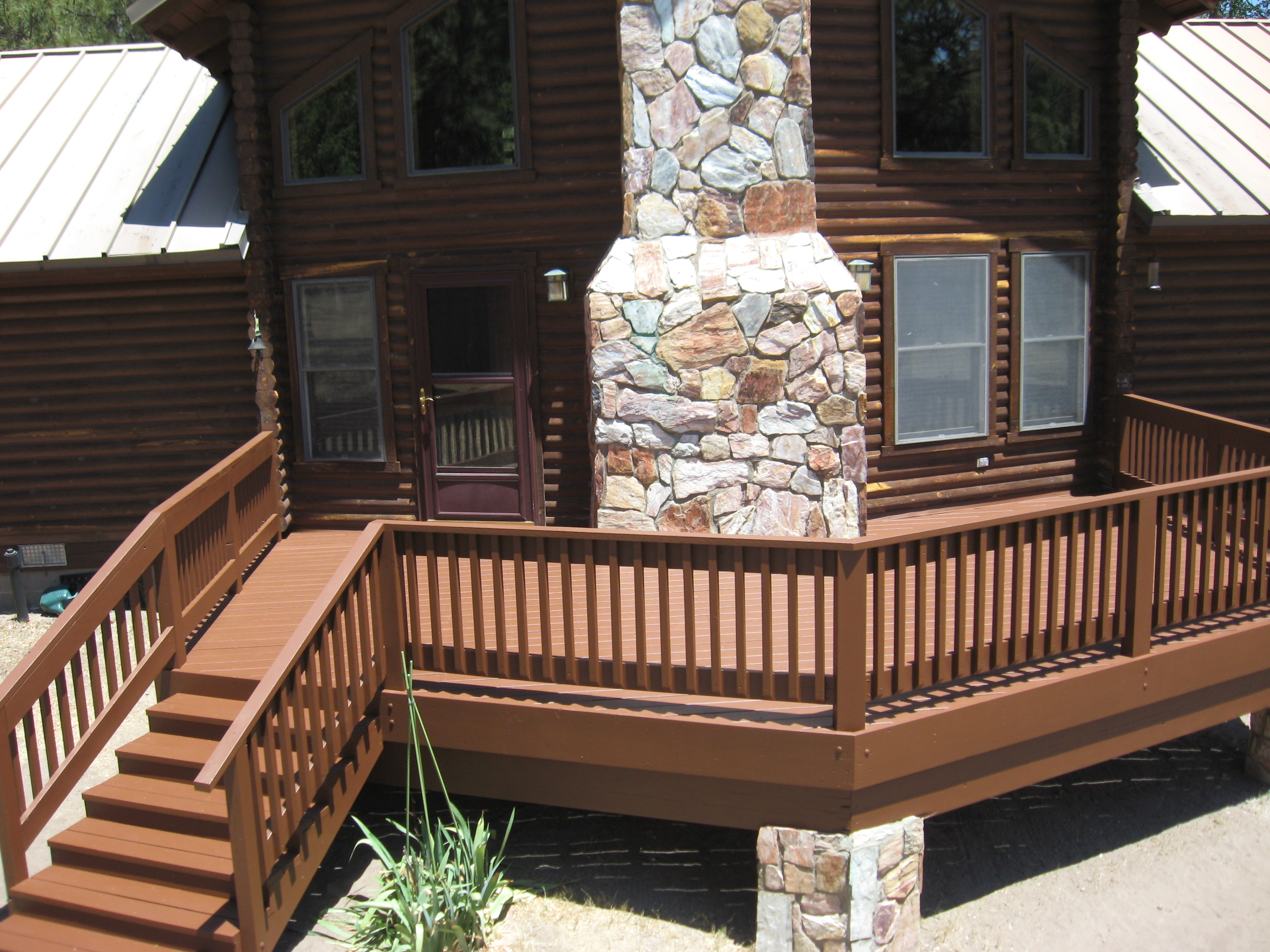 wood deck image