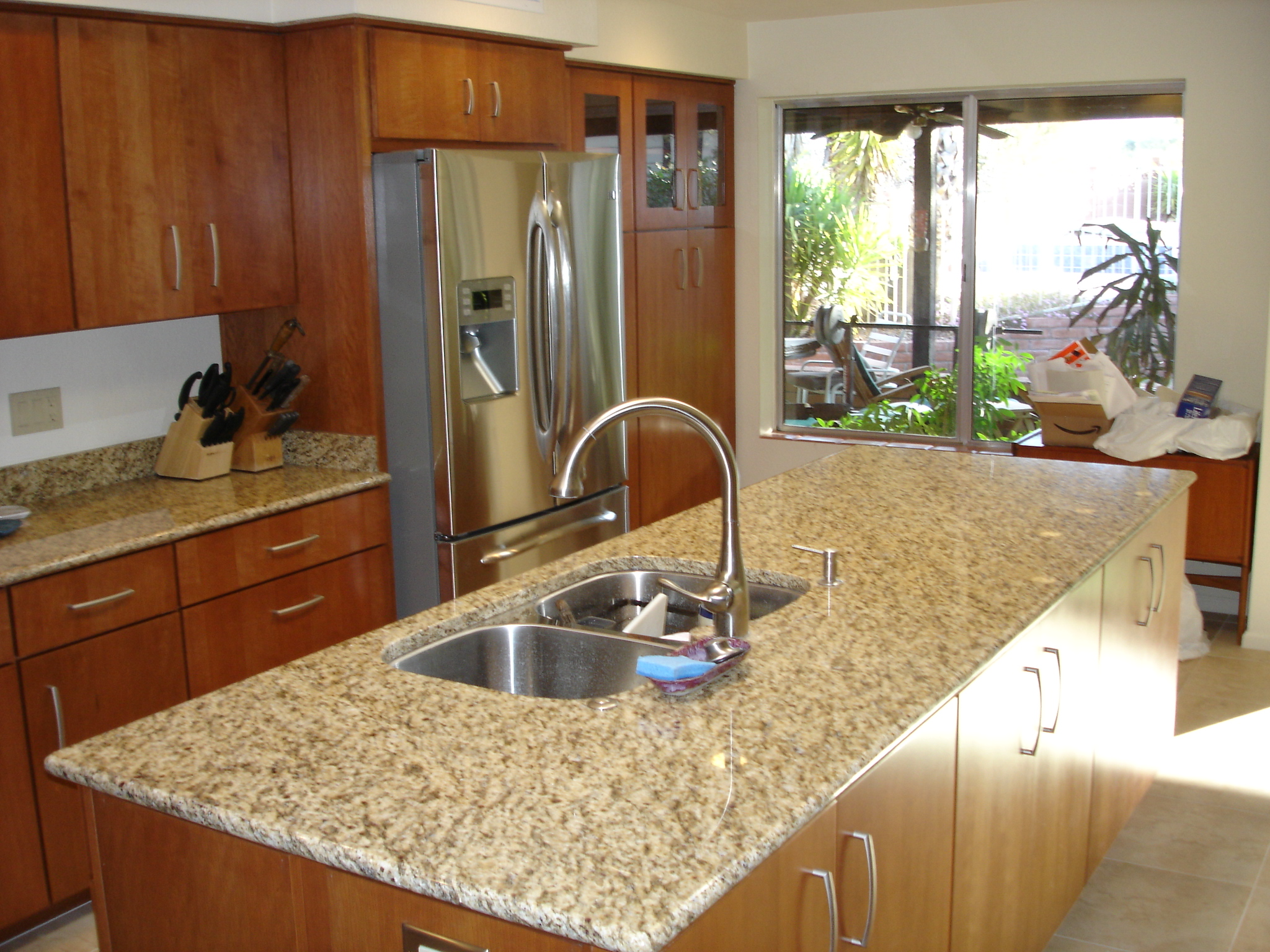 kitchen island windows image